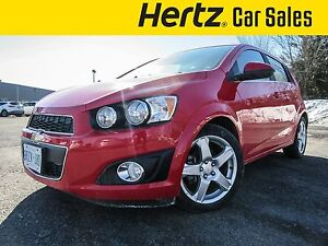 2016 Chevrolet Sonic LT Hatch, Sunroof, Remote Start, Air,Auto,