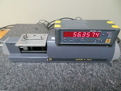 Sylvac Ps16-50 Bench-top Measuring Machine W Sylvac D50s Readout Nx7