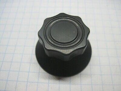 "Fluted Daka-Ware Tuning Knob 2/"" Dia Skirt W// Pointer"