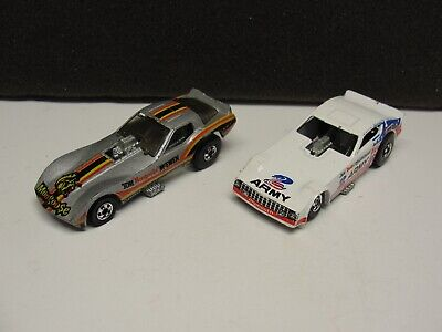 Vintage Hot Wheels 1977 ARMY Funny Car Don SNAKE Prudhomme 1977 Mongoose