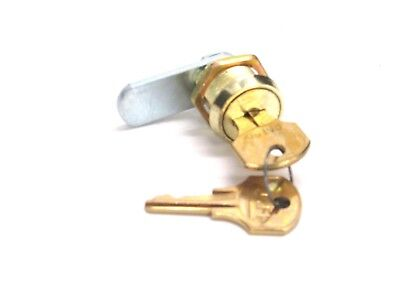 New Ccl Disc Tumbler Cabinet Lock Keyed Different 58 Cylinder Brass 15751