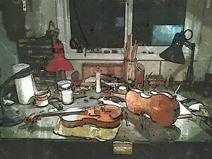 hand crafted violins and repair service