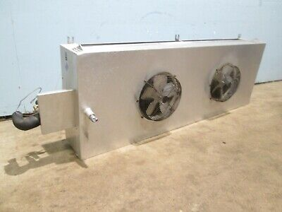 Witt Laa 740 H.d. 2 Fans 130hp 115v Walk In Cooler Low Profile Evaporator