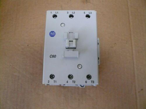 New Allen Bradley Contactor 100-C60 00 Series B 120 Volt AC Coil