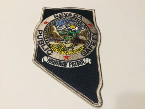 NEVADA HIGHWAY PATROL  PATCH