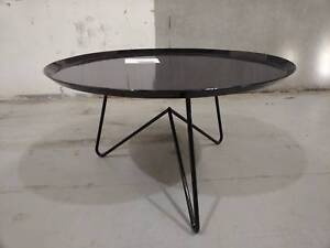 INDUSTRIAL IRON COFFEE TABLE - FACTORY 2ND - Richmond Yarra Area Preview