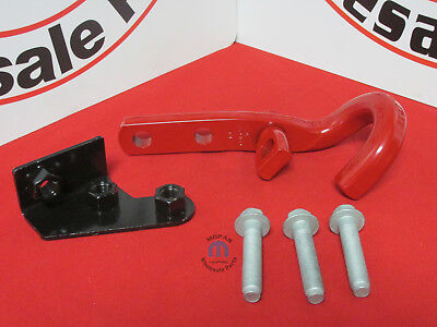 JEEP WRANGLER Right Rear Bumper Tow Hook Kit Assembly NEW OEM MOPAR ()