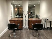 Aesthetics room and hairdresser chairs rental