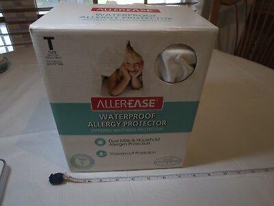 Allerease Wasserfest Allergie Mite Schutz Matratzenschoner Reißverschluss Twin