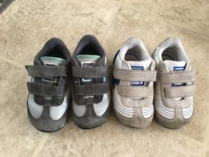 Puma toddler shoes size 4