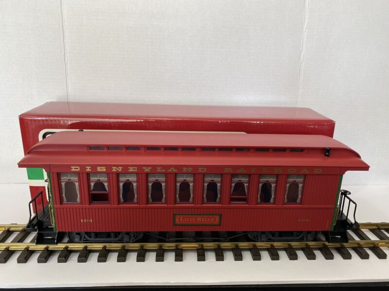 Lgb Disney 33803 Lilly Belle Red Disneyland Railroad