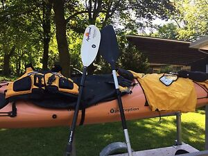 Kayak Trailer and gear