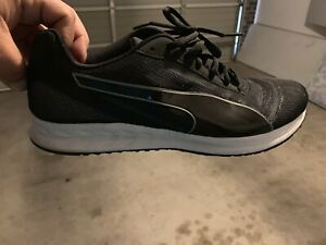 Puma black sneakers worn twice bought for 100 sell $50 Epping Whittlesea Area Preview
