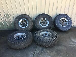 Mickey Thompson 4x4 mud tyres and rims Ferntree Gully Knox Area Preview