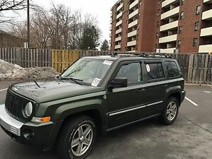 2008 Jeep limited  Patriot 4x4 e tested 3895$+hst as is