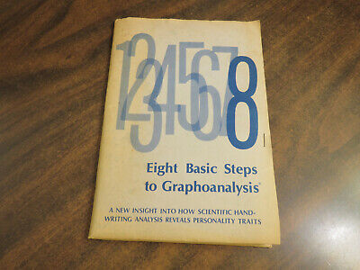 12345678 Eight Basic Steps to Graphoanalysis 1968 International Society