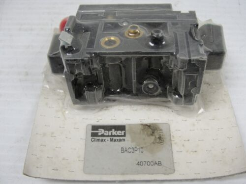 New Parker Hydraulic Valve, BAC3P10.