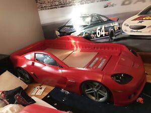 Corvette race car bed