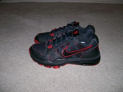 NEW SZ 9.5 NIKE AIR TRAINER LOW 1.2 MANNY PACQUIAO STEALTH 431848 002 BRED XI IV for sale  Shipping to Canada