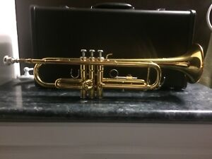 Trumpet and case for sale!