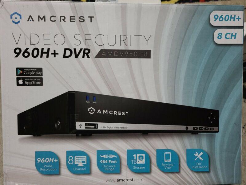 AMCREST Video Security 960H+DVR  - AMDV960H8 - 960H + DVR, 8 Channel