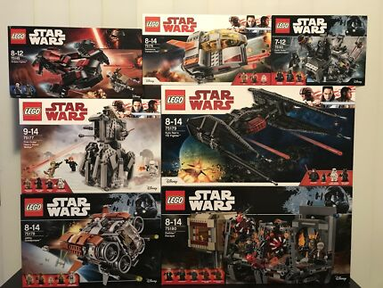 Brand new Lego Star Wars sets for sale from $10