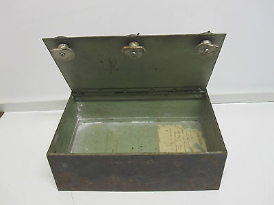 Altes  Geldkassette, Tresor, Safe um 1892  RARITÄT