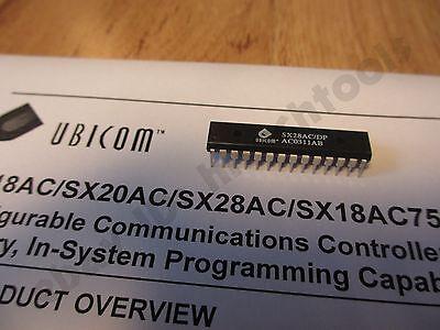 1pc Ubicom Scenix Sx28acdp Microcontroller 50mhz 50mips Parallax Usa Seller