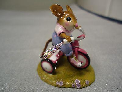 Wee Forest Folk  M-526  Tiny Trike Pink Girl Version