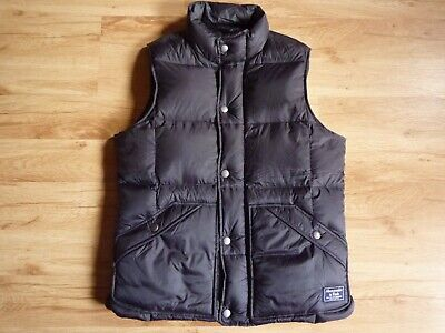 Abercrombie & Fitch Down Vest Waistcoat Size XS, used for sale  Shipping to Nigeria