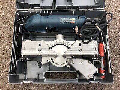Bosch 1640VS FineCut Power Handsaw & FS2000 Miter Table Attachment Kit w/Case