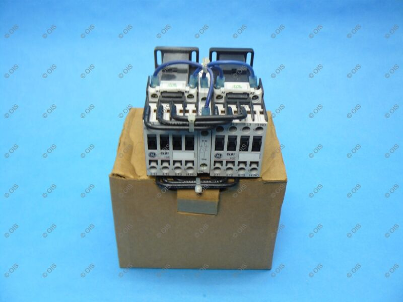 GE LDR01AB Reversing Contactor IEC Size C 3 Pole 25 Amp 12 VDC Coil New