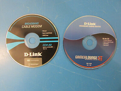 D-Link Broadband Gaming Router & Cable Modem Manual Quick In