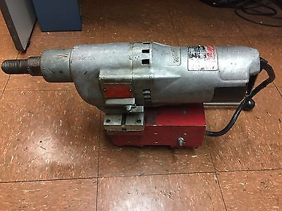 Vintage Milwaukee 4094 Diamond Coring Motor 450900 Rpm 20 Amp Base T
