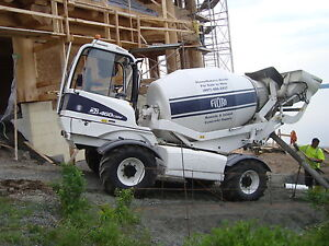 4WD Concrete Mixer 2014 Fiori DB460
