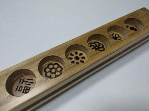 Korean Traditional Cookie Rice Cake DASIK Making 6 Hole Wooden Mold Frame
