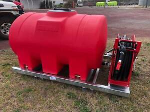 Fire Fighting unit 1100 L Sled FIRE FIGHTER With Honda Pump and H/R Yass Yass Valley Preview