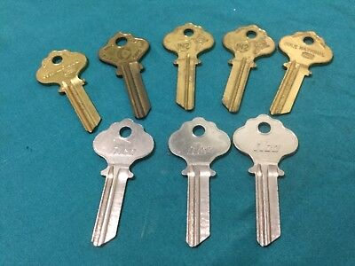 Ilco By Cole National In2 Key Blanks Set Of 8 - Locksmith