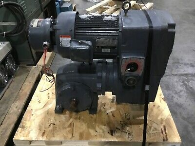Us Motors Varidrive Motor With Gear Box Shur Stop Brake 4dk