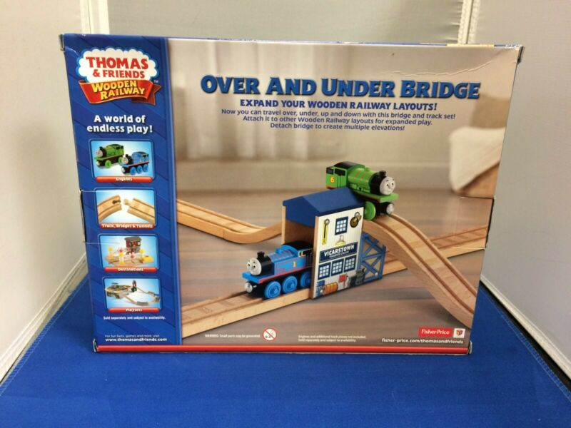 Fisher Price BGP34 Thomas /& Friends™ Wooden Railway Over /& Under Bridge