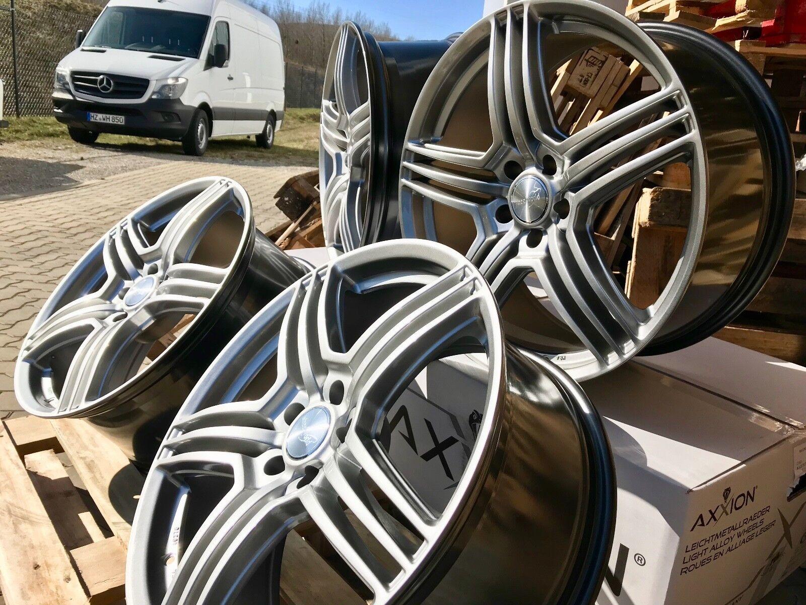 20 Zoll Alufelgen Wheelworld WH12 5x120 BMW X3 X4 X5 E70 F15 E53 F25 E83 F26 ABE