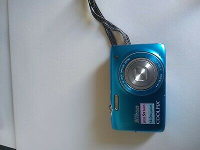 Appareil photo Nikon Coolpix S3100 Blue