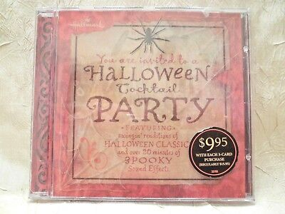 Hallmark Halloween Cocktail Party CD includes Spooky Sounds Sealed