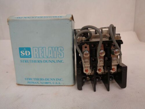 STRUTHERS-DUNN TYPE-425CXX  CONTACTOR  NEW IN BOX