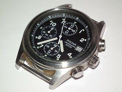 Vintage Chronograph Pulsar V657-X063 USA / British Military Type Wristwatch