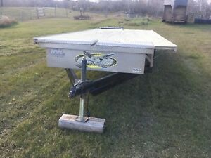 4 place Snow mobile trailer