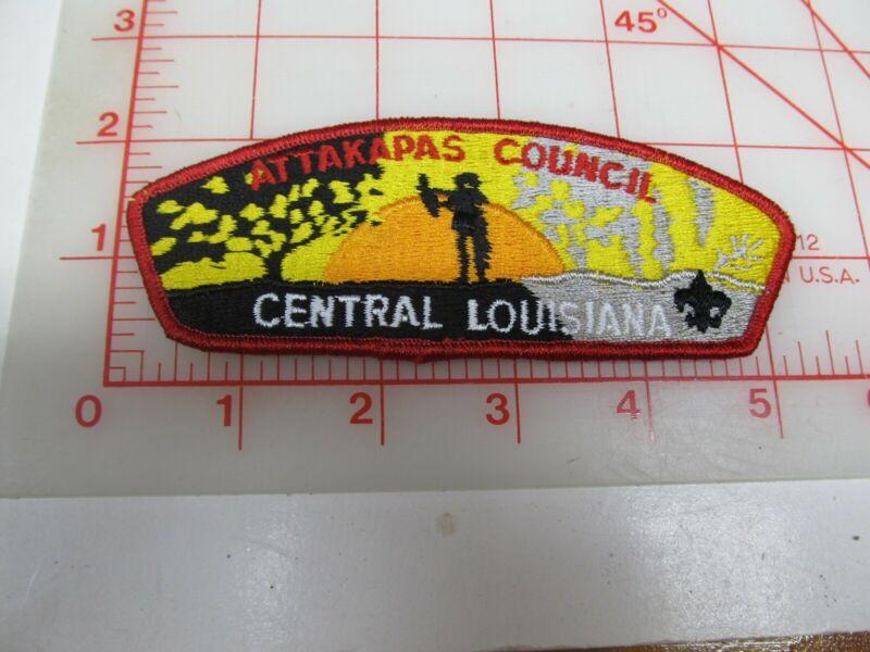 Attakapas Council CSP collectible PB patch (o34)