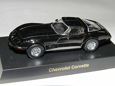Kyosho Diecast Collection 1/64 US Muscle Chevrolet Corvette Stingray Black NIB