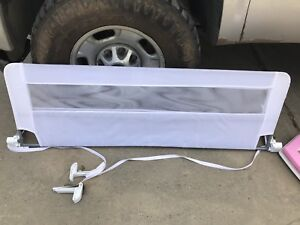 Extra long safety bed rail