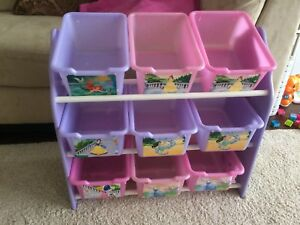 Toy storage bins Disney Princess